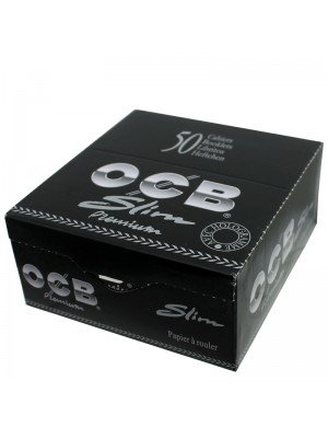 Wholesale OCB King Size Slim Rolling Papers - Black