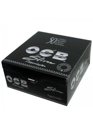 Wholesale OCB King Size Slim R-Paper - Black