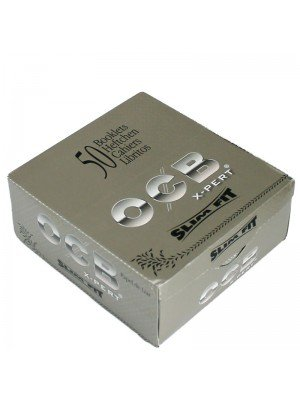 Wholesale OCB X-pert King Size Slim Rolling Papers - Silver