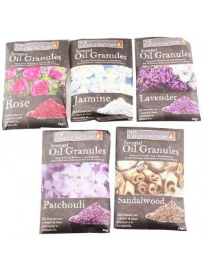 The Candle Factory Scented Oil Granules - Assorted