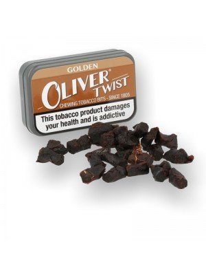 Oliver Twist Chewing Tobacco Bits - Golden
