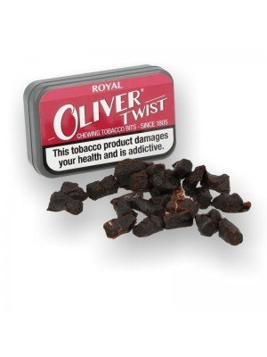 Oliver Twist Chewing Tobacco Bits - Royal
