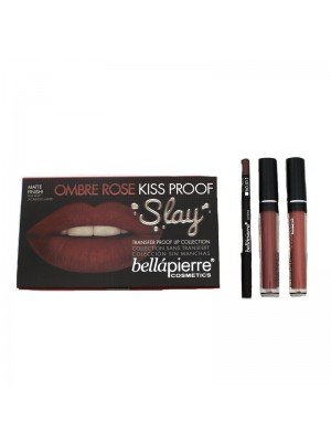 Kiss Proof Slay Lip Collection - Ombre Rose
