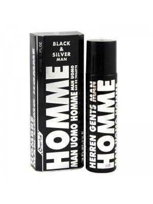 Wholesale Omerta Mens Perfume - Black & Silver Man