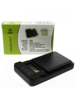 On Balance LS-600 Digital Pocket Scale (600g x 0.1g)