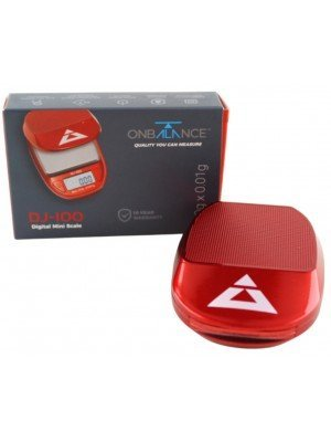 On Balance Mini Digital Scale - Red (100g x 0.01g)