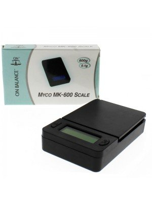 On Balance Myco MK-600 Digital Pocket Scale (600g x 0.1g)