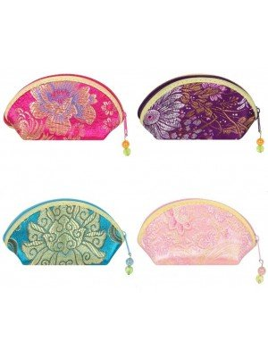 Wholesale Oriental Coin Purse - Assorted Designs & Colours