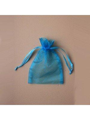 Organza Gift Bag - Turquoise (11x15cm)