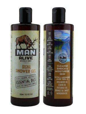 Wholesale Man Alive Shower Gel For Mens - Original
