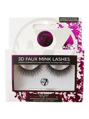 Wholesale W7 3D Faux Mink Lashes - Out Out