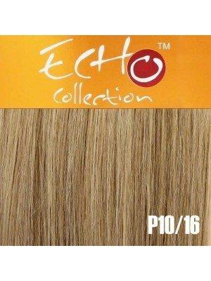 """Echo Human Hair Extensions - European Weave - Colour: P10/16 - 16"""""""