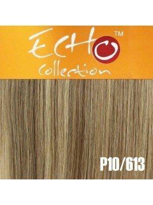 """Echo Human Hair Extensions - European Weave - Colour: P10/613 - 18"""""""