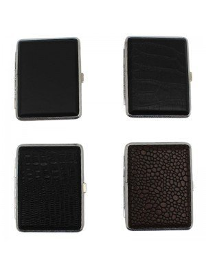 J & Y Cigarette Cases- Assorted designs(8 x 10cm)