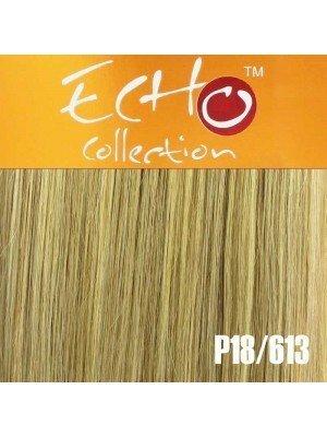 """Echo Human Hair Extensions - European Weave - Colour: P18/613 - 18"""""""
