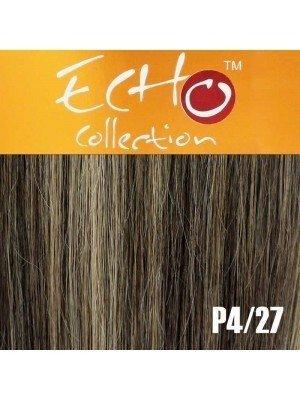 """Echo Human Hair Extensions - European Weave - Colour: P4/27 - 18"""""""
