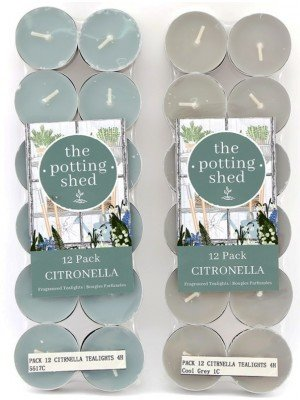 Citronella Tealights Pack of 12
