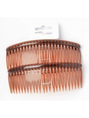Wholesale Pack of 2 Tort Combs - 12cm