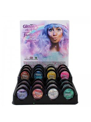 Wholesale Paint Glow Fantasy Iridescent Chunky Loose Glitter Pots