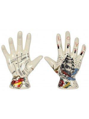 Wholesale Palmistry Tattoo Hand Ornament - 19cm