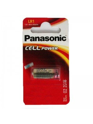 Panasonic Alkaline Batteries - LR1 (1.5V)