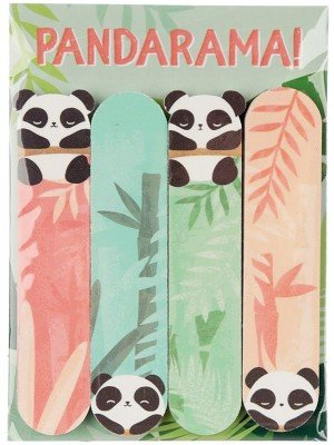 Pandarama Nail File Set - Assorted (Pack of 4)