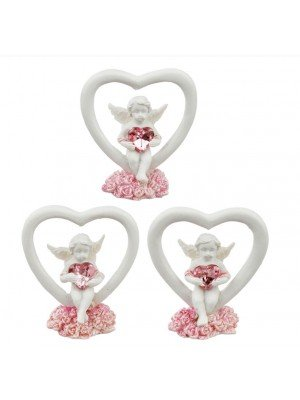 Wholesale Peace of Heaven Love Conquers Cherub Figurine - Assorted