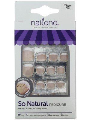 Wholesale Nailene So Natural Toenails - Pink French Fuzzy (71122)