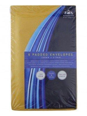 Wholesale Peel & Seal Padded Envelopes (Pack of 6)