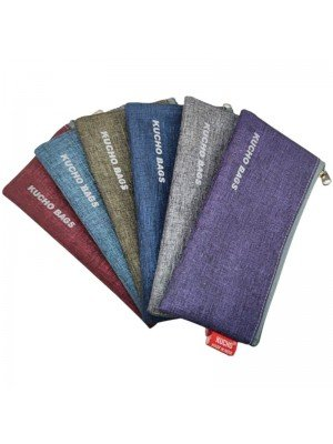 Assorted Colours Pencil Cases With Zipper Compartment