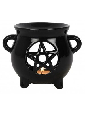 Pentagram Cauldron Oil Burner