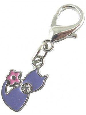 Pet Charms - Purple Sweetie Cat