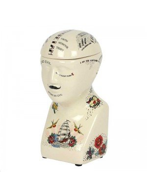 Wholesale Phrenology Tattoo Storage Jar