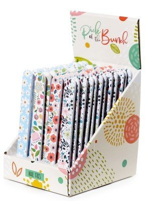Pick Of The Bunch Botanical Nail File - Assorted