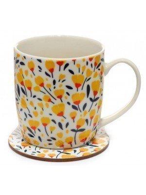 Pick of the Bunch Buttercup Porcelain Mug & Coaster Set