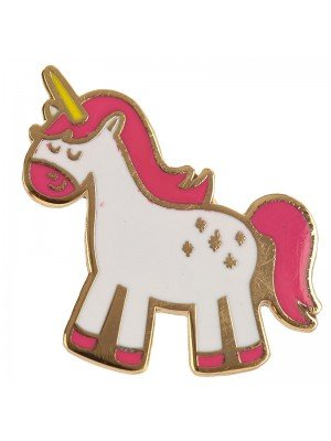 Collectable Enchanted Rainbows Unicorn Enamel Pin Badge