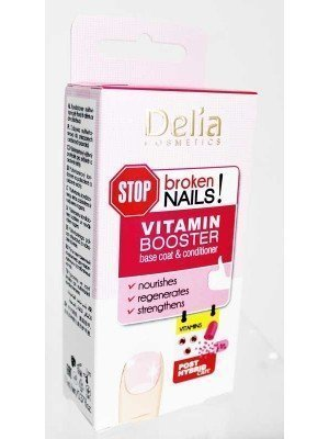 Wholesale Delia Cosmetics Vitamin Booster Base Coat & Conditioner-11ml