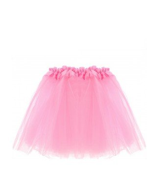 Baby Pink Children's 3-Layer Tutu Skirt
