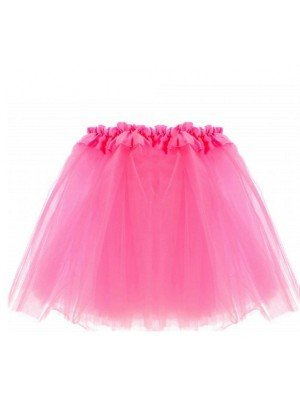 Wholesale Children's Neon Pink Tutu Skirt