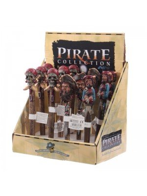 Pirate Theme Hand Painted Writing Pens