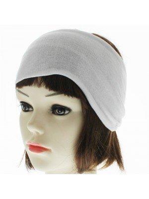 Plain 4.5cm Headbands - White