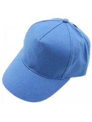 Plain 6 Panel Baseball Caps - Royal