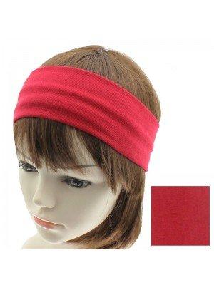 Plain 9cm Red Headband