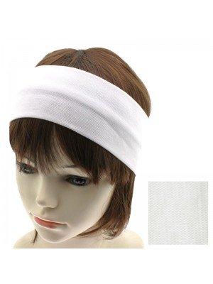 Plain 9cm White Headband