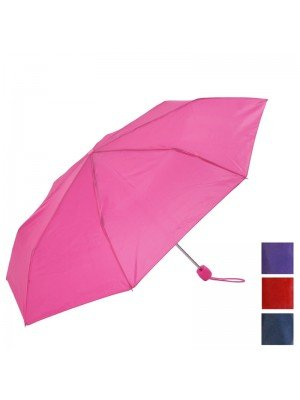 Plain Compact Umbrella - Assorted Colours