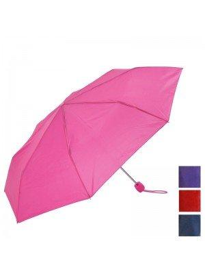 Plain Compact Umbrella - Assorted Colours