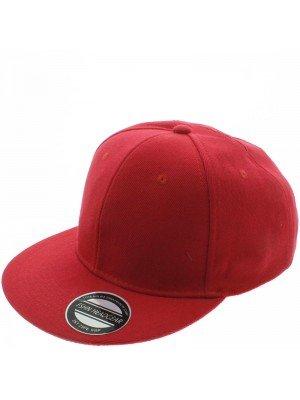 Plain Snapback Cap- Red