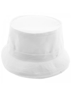 Plain White Bucket Hat