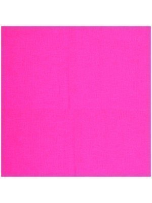 Plain Bandana - Neon Pink
