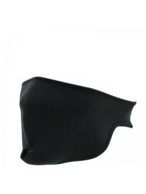 Plain Biker Face Mask - Black